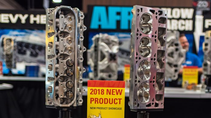 Mongoose 12-Degree 260cc LS3 Cylinder Head from AFR