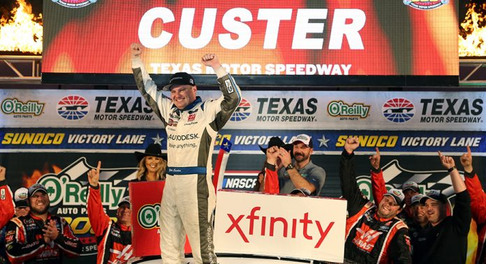 Results: Cole Custer wins Round of 8 playoff race at Texas