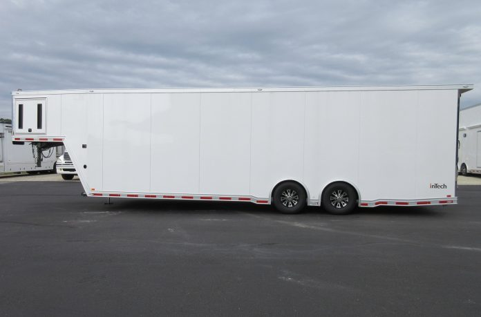 New Flying A 36- Foot Gooseneck Race Trailer