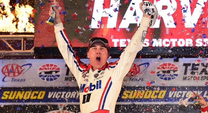 Results: Kevin Harvick wins at Texas, advances to Miami