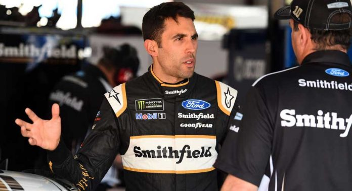 Aric Almirola gives update on Joey Logano