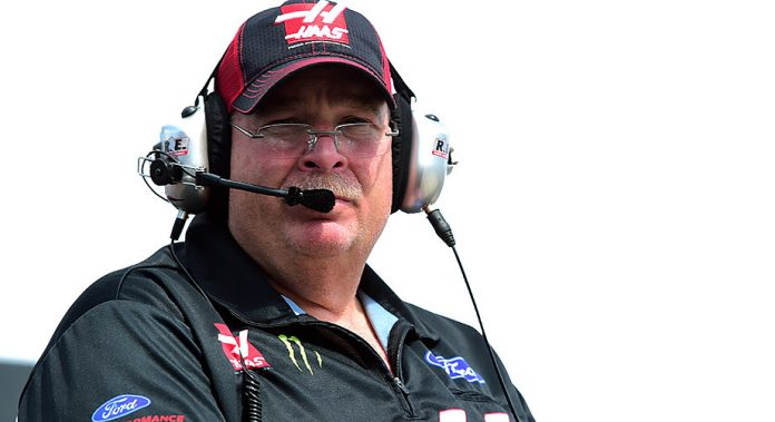 SHR: Tony Gibson to be No. 4 team's interim crew chief