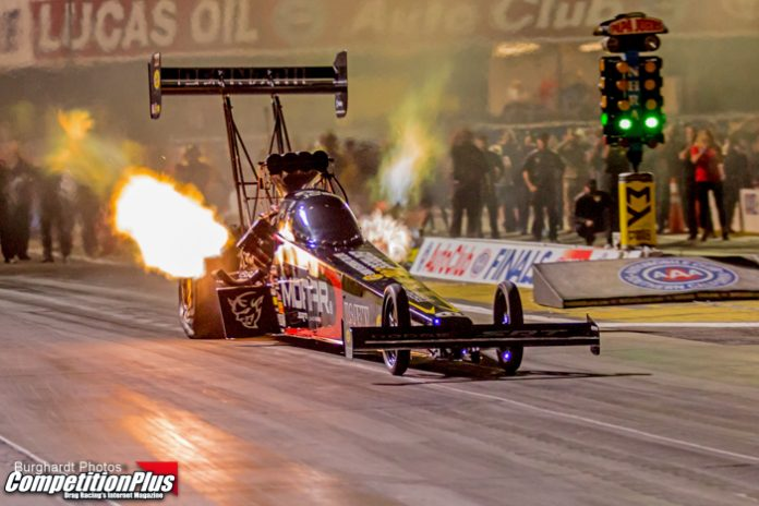 PRITCHETT LOOKING TO FINISH STRONG IN 2018, RACES TO TOP SPOT FRIDAY AT NHRA FINALS