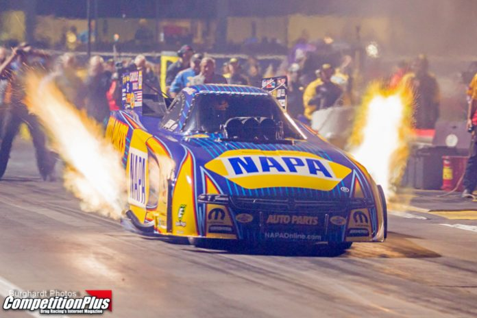 CAPPS THROWS DOWN IN FINAL PASS AT POMONA, TAKES FIRST NO. 1 OF SEASON