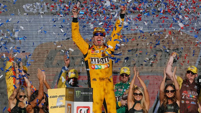 Kyle Busch wins at Phoenix as Championship 4 is set