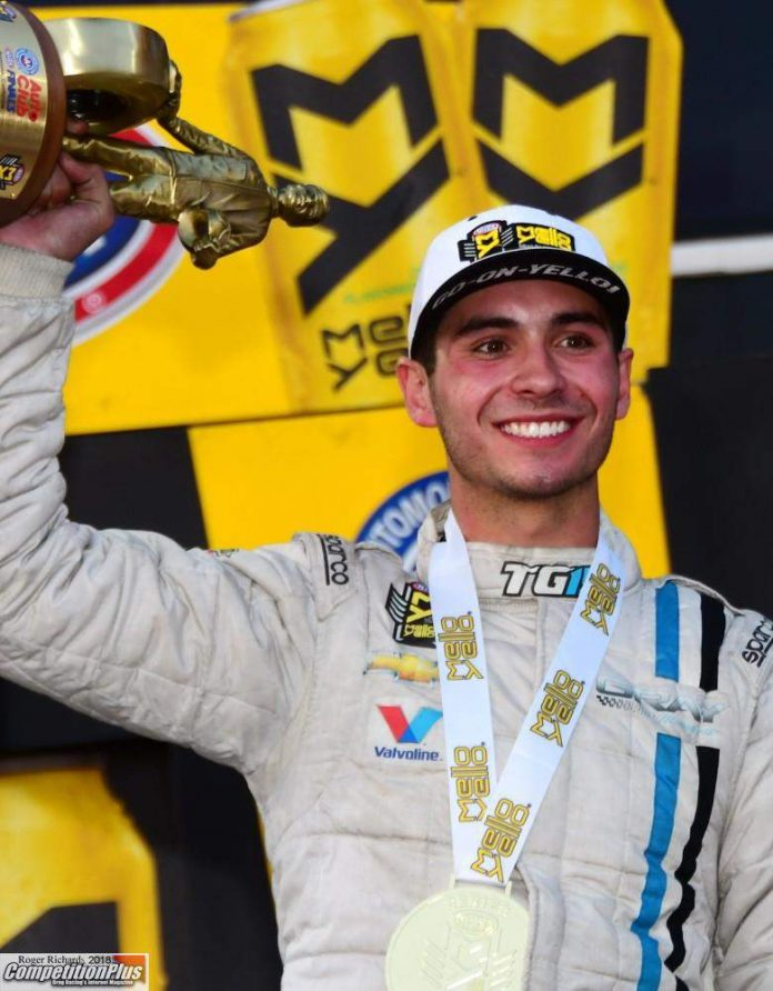 GRAY BECOMES YOUNGEST CHAMPION IN NHRA MELLO YELLO HISTORY