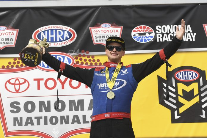 Top Fuel's 'Alexander The Great' Trying To Set Career Reputation