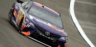 Qualifying results Homestead Miami: Hamlin starts on pole