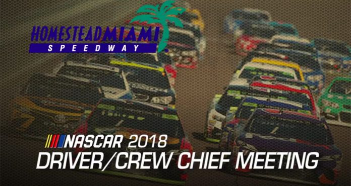 Watch: Driver meeting video for Homestead-Miami