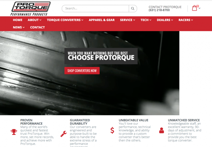 ProTorque Rolls Out Fresh New Online Home