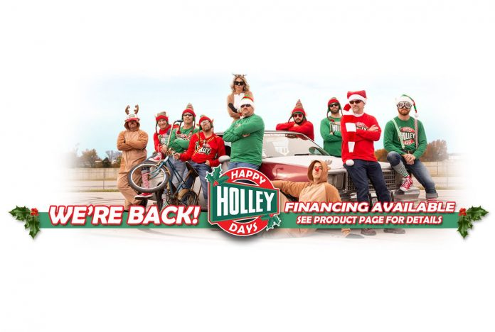 Tis Season For Happy Holley Days With Up To 20% Off Holley Products!