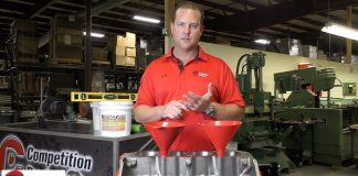 Installing Engine Block Filler With Competition Products