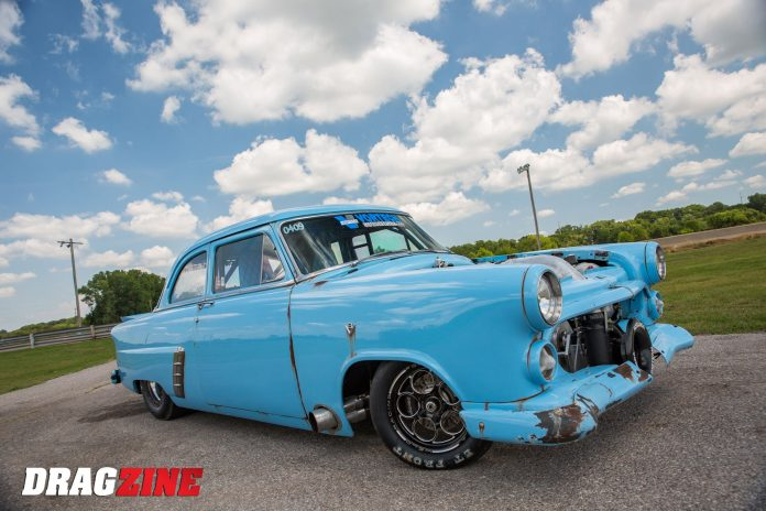 Richie Blubaugh's Supercharged 1952 Ford Mainline