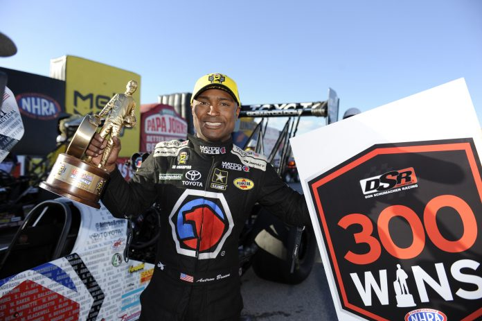 THREE-TIME TOP FUEL CHAMPION BROWN EAGER FOR 2019 SEASON TO BEGIN