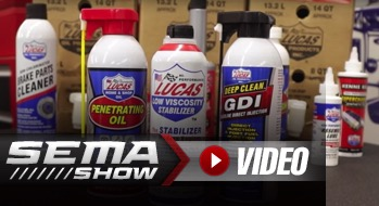 SEMA 2018: Lucas Oil's New Low Viscosity Oil Stabilizer