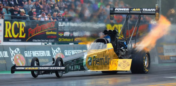 AUSSIE DAUGHTER FOLLOWS FATHER INTO TOP FUEL