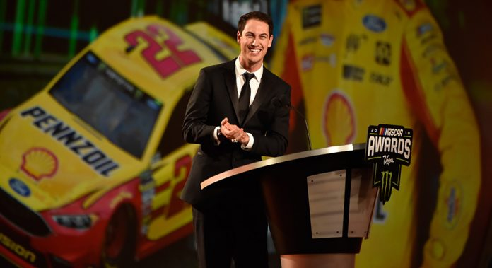 Joey Logano honored as Monster Energy Series champion