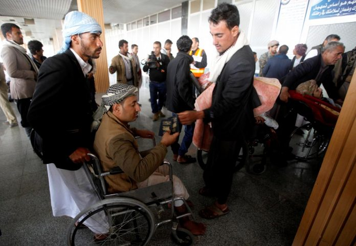 Coalition allows evacuation of wounded Houthis before Sweden hosts Yemen talks