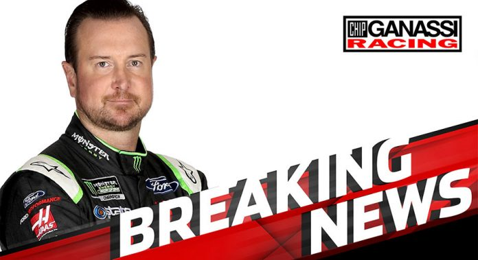 Kurt Busch to drive No. 1 for Chip Ganassi in 2019