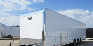 Flying 34-Foot Pro Stock Trailer from Vintage