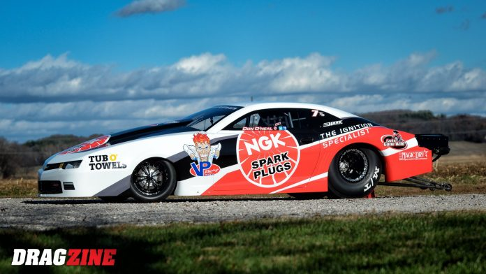 O'Neal, NGK Unveil LSX-Powered Top Sportsman Camaro