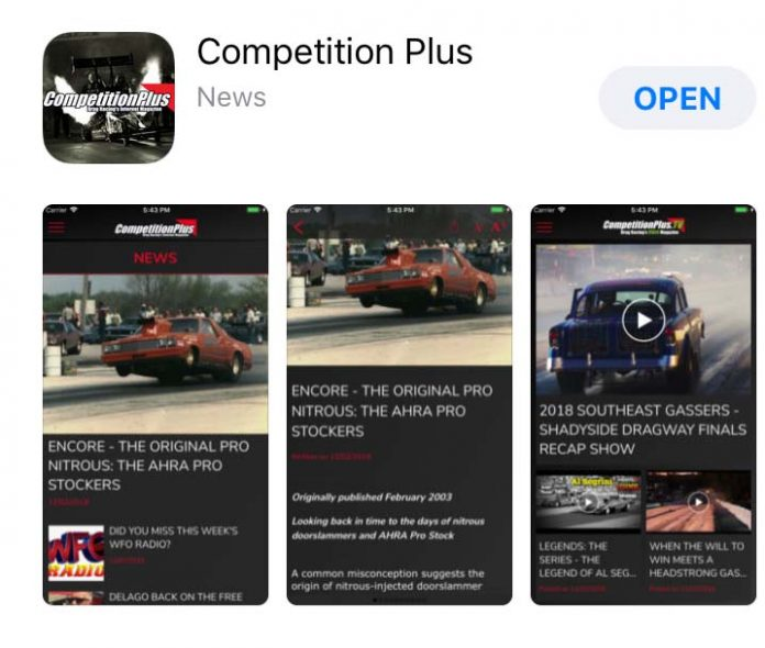 COMPETITIONPLUS.COM MOBILE APP LAUNCHED TO KICK-OFF PRI