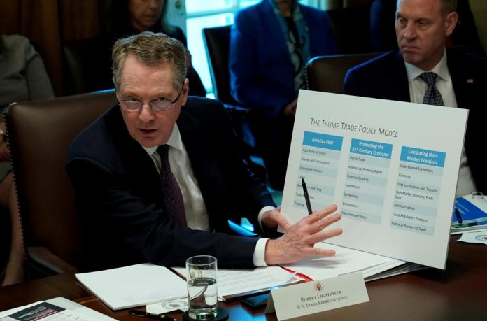 U.S. trade representative Lighthizer says 90 days a 'hard deadline' for China deal