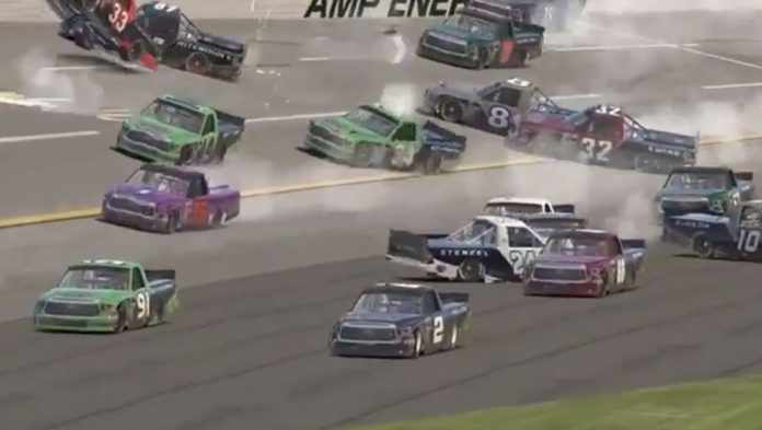 iRacing updates from the Armchair: DiBenedetto's Big One