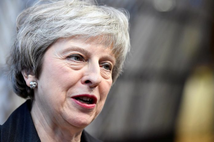 May's plea for EU help on Brexit cast as failure at home