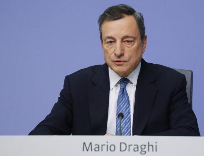 Europe must fight illiberal forces, Draghi warns