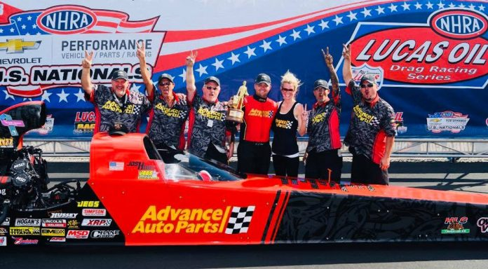 TAD DRIVER HART PLANS TO GET TOP FUEL LICENSE
