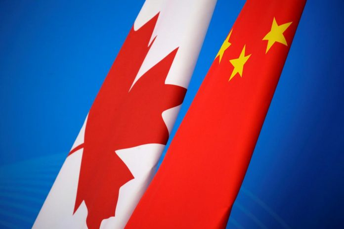China accuses Britain, EU of hypocrisy over Canada detention concerns