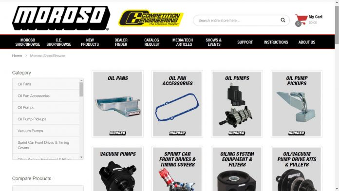 Moroso Performance's New Website Make Upgrades Easy To Find