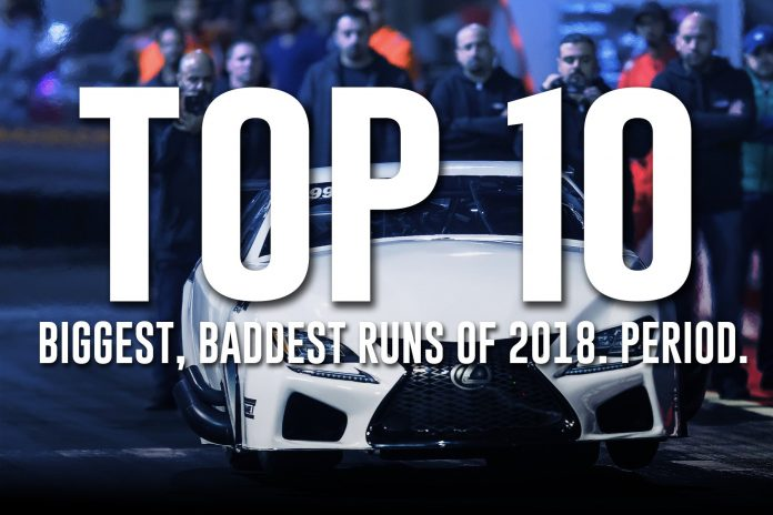 The Top 10 Biggest, Baddest Runs Of 2018!