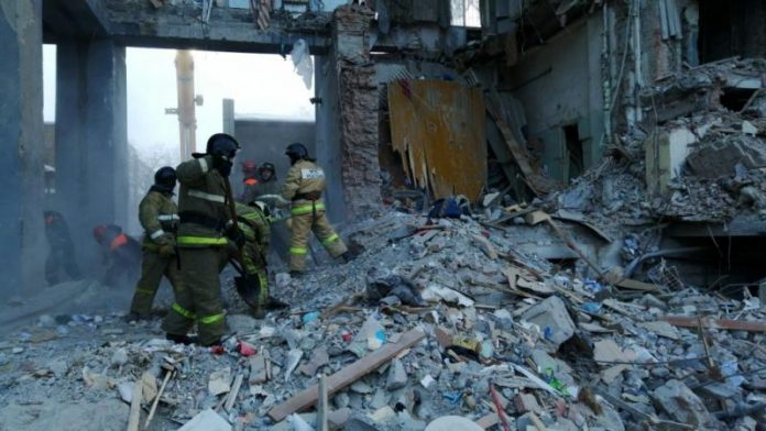 Death toll jumps to 37 in Russian apartment block collapse: agencies