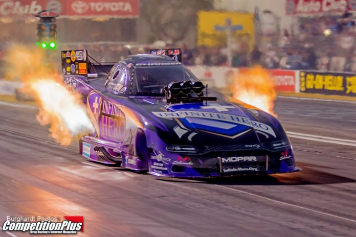 FUNNY CAR BORROWS PAGE FROM PRO STOCK HISTORY