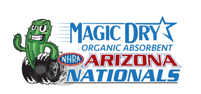 MAGIC DRY ORGANIC ABSORBENT ASSUMES TITLE SPONSORSHIP OF NHRA NATIONAL EVENT IN PHOENIX