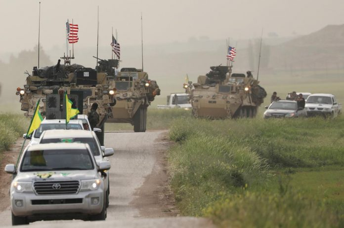 U.S.-led coalition says it has started Syria withdrawal