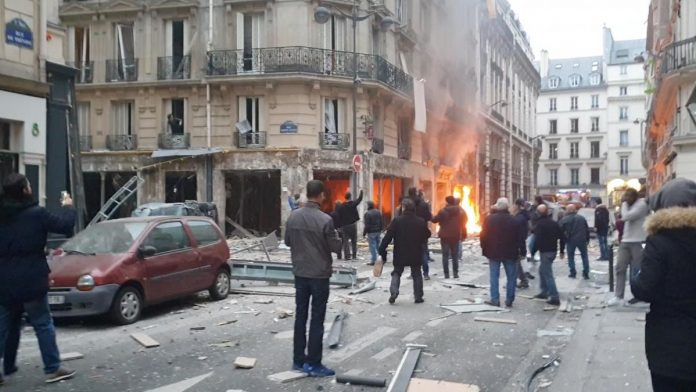 Four dead in Paris gas blast amid lockdown for yellow-vest protests