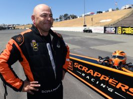 TOP FUEL DRIVER SALINAS HAS PLENTY GOING ON WITH HIS TEAM