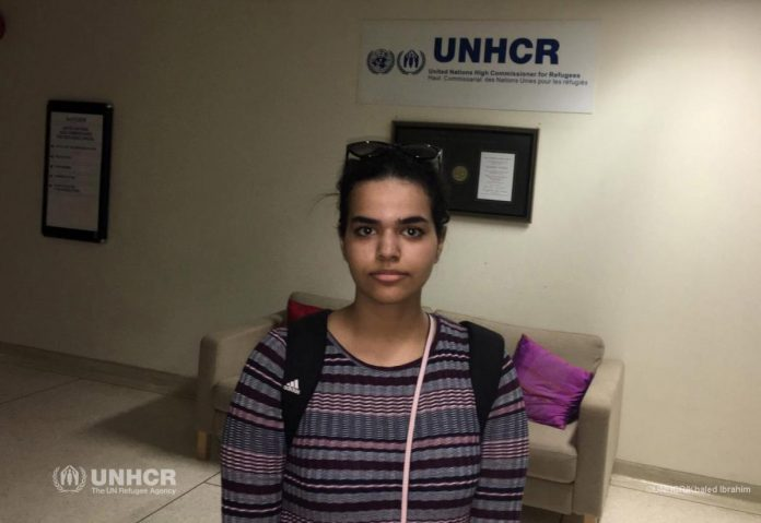 Saudi teen who fled her family arrives in Canada