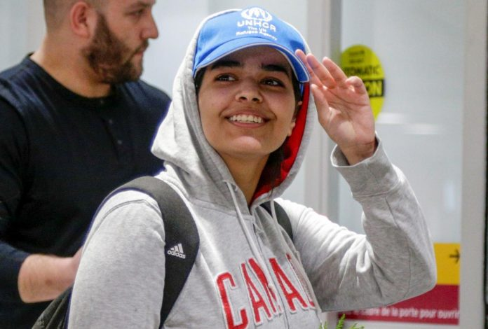 Saudi teen who fled family welcomed as 'brave new Canadian' in Toronto