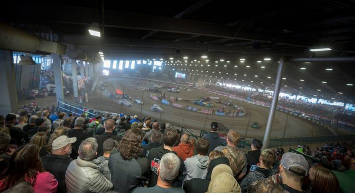 An overview of the Chili Bowl Nationals in Tulsa, Oklahoma.