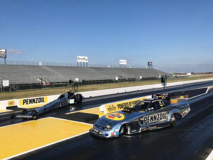 HOUSTON RACEWAY PARK MAKING THE SWITCH TO PENNZOIL