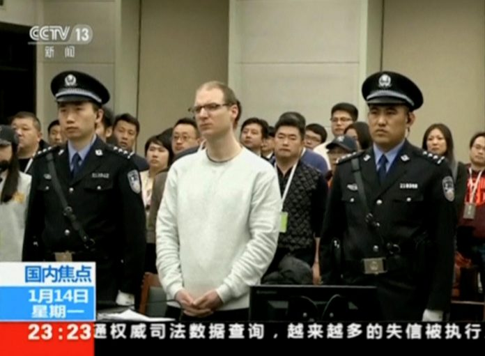 Chinese media rejects suggestion death for Canadian drug smuggler a pressure tactic