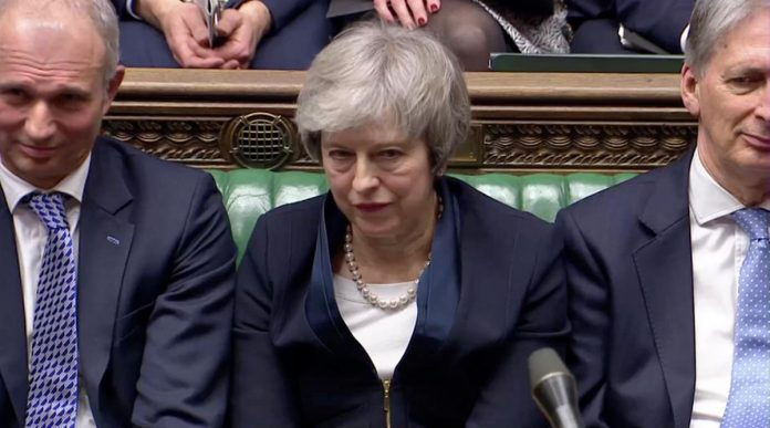 Brexit bedlam: May's EU withdrawal deal crushed by 230 votes in parliament