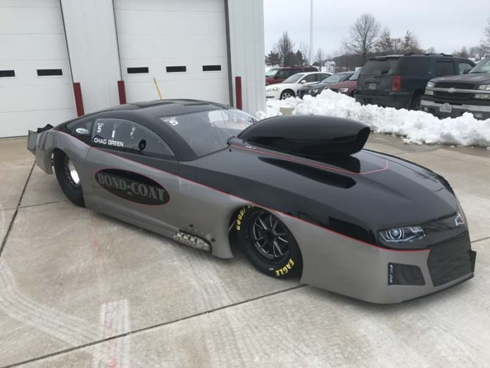 FIRST LOOK - CHAD GREEN'S NEW 2019 NOS ZL1 CAMARO