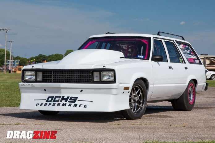 Leah Och's Boosted Ford Fairmont Wagon