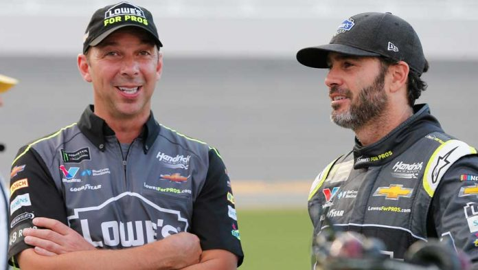 Chad Knaus, Jimmie Johnson's friendship with new roles
