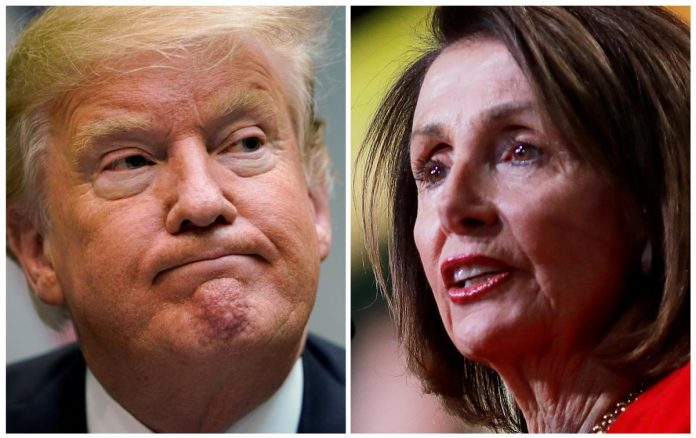 Locked out of House by Pelosi, Trump vows State of Union alternative